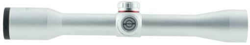 "Simmons 511033 .22 Mag 4x 32mm Obj 21 ft @ 100 yds FOV 1"" Tube Silver Truplex"