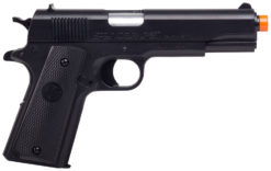 Crosman ASP311B Stinger P311  Spring Piston 6mm Airsoft 12rd Black Frame Black Polymer Grip